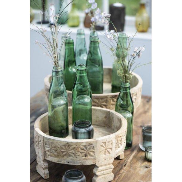 Indisk glasflaske <br><br> Unika <br><br> Ib Laursen